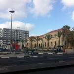 Вход в медицинский комплекс Рамбам в Хайфе